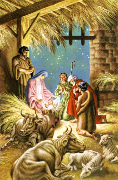 The Nativity (Luke 2:16)